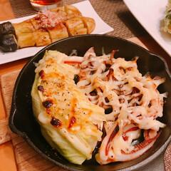 焼き茄子/グリル焼き/三つ葉消費/天ぷら 冷蔵庫整理日😆   ※ちくわと三つ葉の天…(2枚目)