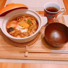 名古屋/味噌煮込みうどん/おうちごはん/節約 昨日の夜ご飯🤗   味噌煮込みうどん🍲 …