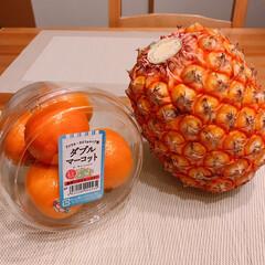 パイナップル/マーコット 食べてみたかったマーコット😍❤️ 何がダ…