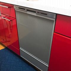 パナソニック/食洗機/購入品 新しい食洗機きたー😄  壊れたので修理も…