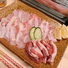 ちまき/551/炉端焼き/朝引き鶏 今日は朝引きの鶏肉と鴨肉を買ってきたので…(2枚目)