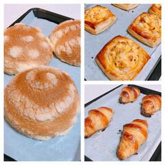 冷凍生地/冷凍パン/富澤商店/簡単 富澤商店に行って見つけた冷凍パン生地🤗 …