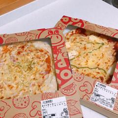 激安/ピザ/ロピア お目当ての蟹🦀は売り切れだった😫 食べさ…