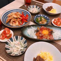 牛肉の甘辛煮/西京焼き/海鮮ユッケ ※海鮮ユッケ  ※鶏肉の西京焼き  ※牛…(1枚目)