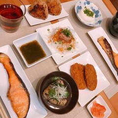 焼きおにぎり/たけのこごはん/細もずく/おうちごはん/簡単/暮らし/... ※筍の炊き込みごはん ※鮭の西京漬け  …