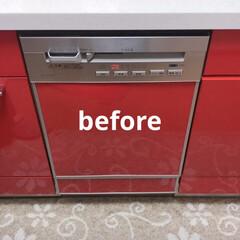 パナソニック/食洗機/購入品 新しい食洗機きたー😄  壊れたので修理も…(4枚目)