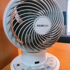 アイリスオーヤマ/サーキュレーター 旦那が持ってた15年前の扇風機💦 捨てる…