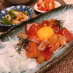 牛肉の甘辛煮/西京焼き/海鮮ユッケ ※海鮮ユッケ  ※鶏肉の西京焼き  ※牛…(2枚目)