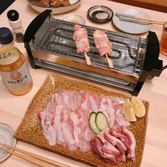 ちまき/551/炉端焼き/朝引き鶏 今日は朝引きの鶏肉と鴨肉を買ってきたので…(1枚目)