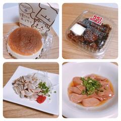 朝引き鶏/りくろーおじさん/チーズケーキ/551蓬莱/肉団子 少し体調が良くなってきたらしくお出かけし…