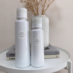 ラベル/モノトーン/monotone/IKEA/セリア アタックZEROのボトル+セリアのラベル…