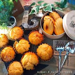 ホームメイド/手作りマフィン/おやつ作り/おうちカフェ/グレープフルーツマフィン/マフィン/... おひさマフィン