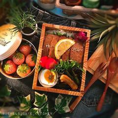 ステーキ弁当/和風弁当/もくもくハウス/お弁当/ᴊᴋ弁当/令和カウントダウン/... 今日のお弁当。 柔らかステーキ弁当です。 (1枚目)