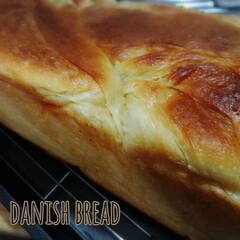 折込シート/朝ごパン/ホームメイド/デニッシュ食パン/キッチン/フード デニッシュ角食🍞