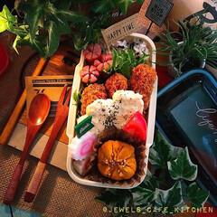 海老フライ弁当/カフェ弁/お昼ごはん/お弁当作り/お弁当/LIMIAごはんクラブ/... 今日のJKおべん。 海老フライ弁当🍱😊