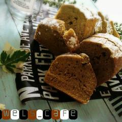 今日のおやつ/手作りおやつ/いつもいいね有難うございます♡/Homemade/おうちカフェ/抹茶パウンド/... 抹茶小豆パウンド🍴