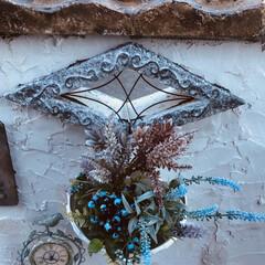 ブロック塀のリフォーム/ブロック塀/スタイロフォーム 古いブロック塀にモルタルを塗って雰囲気を…