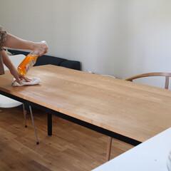 オレンジオイル/家具のお手入れ/一級建築士/家具/住まい 毎日は簡単に拭くだけですが、たまにはオイ…
