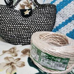 かぎ針編み/セリア/100均 材料費1000円ほどで超軽量バッグが! …