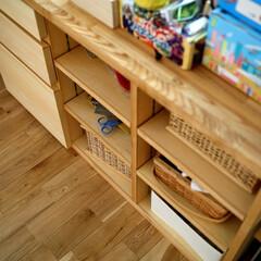 子供部屋/子ども部屋/収納/デスク /本棚/造作家具/... 子供部屋の造り付けデスクの収納 「都会の…