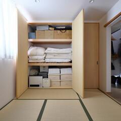 和室/押入/布団/収納/クローゼット/畳/... 布団の出し入れがしやすい押入れ 「都会の…