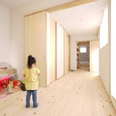 子ども部屋/ウォークインクローゼット/書斎/間取り/新築/注文住宅/... フリースペース、ウォークインクローゼット…