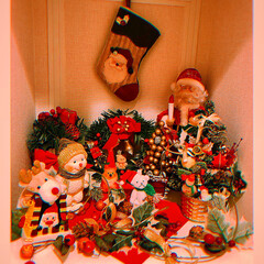 クリスマス2019/リミアの冬暮らし/雑貨/住まい/おすすめアイテム/暮らし/... ☆Xmasインテリア☆ トイレroomの…