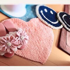 Francfrancのある生活/冬/マット/室内スリッパ/pink/可愛い/... モコモコのピンクの室内スリッパ♡ 可愛く…