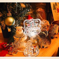 クリスマス2019/リミアの冬暮らし/キャンドゥ/ダイソー/雑貨/住まい/... kitchenカウンターもXmas仕様☆…