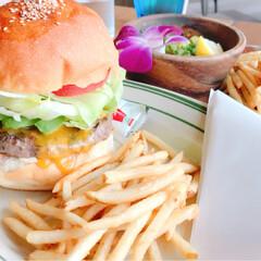 お出かけ/標識/アート/ハンバーガー/夏の思い出/横浜/... 横浜のマリン&ウォークへ行きました。 ア…(9枚目)