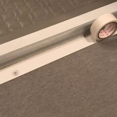 便利アイテム/マンション暮らし/カビ予防/カビ汚れ防止マスキングテープ/マスキングテープ/掃除/... 100均ダイソーで購入した カビ汚れ防止…