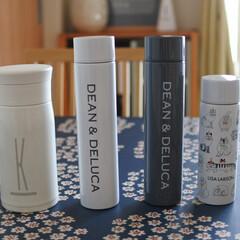 シンプルライフ/シンプルな暮らし/ディーンアンドデルーカ/暮らし/水筒/コンパクト水筒/... 我が家のコンパクト水筒😊 最近追加したデ…
