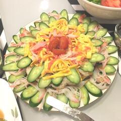 晩御飯 ひな祭り🎎おめでとう㊗️ ちらし寿司♡
