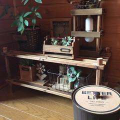 簡単DIY/簡単リメイク/簡単/蓋/鍋敷き/ゴミ箱/... セリアのゴミ箱に鍋敷きを蓋に!