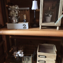 木工/木/小物/キーフック/店/キャンドゥリメイク/... 100圴の材料でキーフックand印鑑収納…