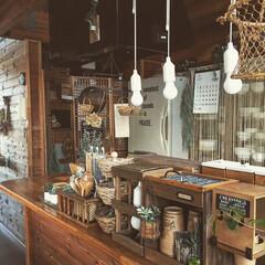 木の家/木/ダイソーリメイク/セリアリメイク/リメイク/100均収納/... いつもと変わらないキッチンカウンターです!