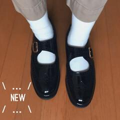 靴磨き/ピッカピカ/ミリタリー/一生モノ/軍モノ/革靴/... 新しいサンダース! カッコイイー!