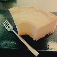 カルピス/お菓子/ケーキ/シフォンケーキ/フード/ハンドメイド/... カルピスの原液を使ったシフォンケーキ! …