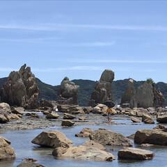 おでかけワンショット 和歌山県 串本の橋杭岩です