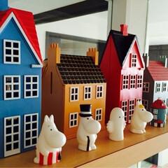 ムーミン/デンマーク/貯金箱 主張し過ぎると幼い部屋になってしまうので…