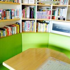 書斎/絵本棚/本棚 すべての書籍はリビングの読書コーナーに収…