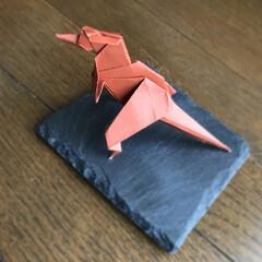 恐竜/折り紙/ハンドメイド/雑貨/100均