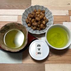 おやつ/北海道産 とら豆 🍁☀️ですが、カラッとでなく 彩の国 暑…(3枚目)