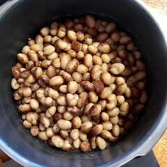 おやつ/北海道産 とら豆 🍁☀️ですが、カラッとでなく 彩の国 暑…(2枚目)