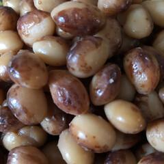 おやつ/北海道産 とら豆 🍁☀️ですが、カラッとでなく 彩の国 暑…(4枚目)