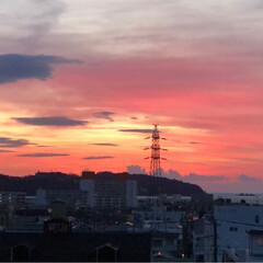 日の出/ラジオ体操🤸♂️ ⓸ 6時起き、日の出は、6♪3分だったか…