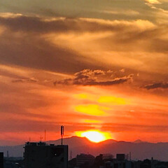 夕日/風景 🌈🌴🦚🌺🍂🍁🌾🍄こんばんは(*^▽^*)…