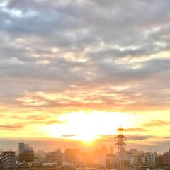 朝日/風景/空 🌈🌴🌺🦚⛩🌅🎍🐮❤️  ٩(*´︶`*)…(1枚目)