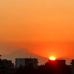 富士山/夕日/風景 🌈🌴🌺🦚🍂🍁🌾🍄こんばんは(*^▽^*)…