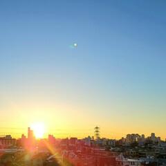 風景/空/朝日 🌴🌺⛱🌼🐠🌴💓  ٩(๑´0`๑)۶ お…(1枚目)